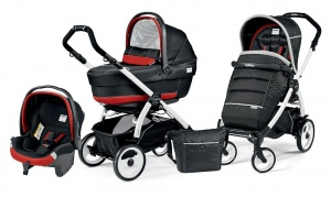 Коляска 3 в 1 Peg-Perego Book Plus 51 Set Modular Pop Up (шасси White) Synergy XL