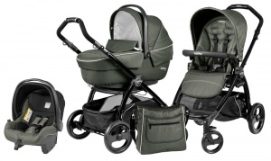 Коляска 3 в 1 Peg-Perego Book Plus Set Modular Sportivo (шасси Black) Timo