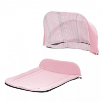 Капор + накидка Seed Papilio Carry Cot Baby Rose