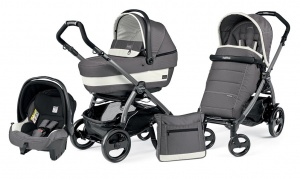 Коляска 3 в 1 Peg-Perego Book Plus 51 Pop Up Set Modular (шасси Jet) Ascot