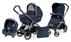 Коляска 3 в 1 Peg-Perego Book Plus 51 Set Modular Sportivo (шасси Jet) Mod Navy