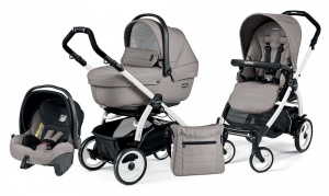 Коляска 3 в 1 Peg-Perego Book Plus 51 Set Modular Sportivo (шасси White) Mod Beige