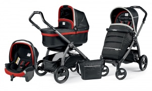Коляска 3 в 1 Peg-Perego Book Plus S Set Modular Pop Up (шасси Jet) Synergy