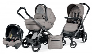 Коляска 3 в 1 Peg-Perego Book Plus 51 Set Modular Sportivo (шасси Jet) Mod Beige
