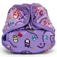 Подгузник для плавания Newborn Snap Cover Kanga Care Eco Owl