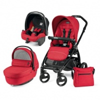 Коляска 3 в 1 Peg-Perego Book Plus Set Modular Sportivo (шасси Black) Mod Red
