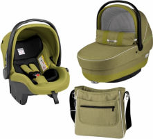 Коляска 3 в 1 Peg-Perego Set Modular Green tea