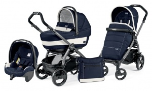 Коляска 3 в 1 Peg-Perego Book Plus 51 Pop Up Set Modular (шасси Jet) Riviera