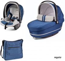 Коляска 3 в 1 Peg-Perego Set Modular Regata
