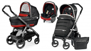 Коляска 3 в 1 Peg-Perego Book Plus 51 Pop Up Set Modular (шасси Jet) Synergy XL