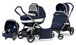 Коляска 3 в 1 Peg-Perego Book Plus S Set Modular Pop Up (шасси Jet) Riviera