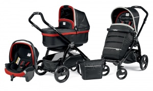 Коляска 3 в 1 Peg-Perego Book Plus Set Modular Pop-Up (шасси Black) Synergy