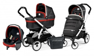 Коляска 3 в 1 Peg-Perego Book Plus 51 Set Modular Pop Up (шасси White) Synergy