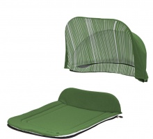Капор + накидка Seed Papilio Carry Cot Garden Green