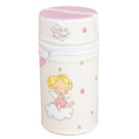 Сумка-термос Ceba Baby Mini Little Angel white-pink