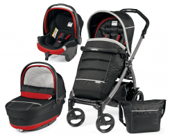 Коляска 3 в 1 Peg-Perego Book Plus Set Modular Pop-Up (шасси Silver) Synergy XL