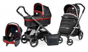 Коляска 3 в 1 Peg-Perego Book Plus 51 Pop Up Set Modular (шасси Jet) Synergy
