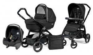 Коляска 3 в 1 Peg-Perego Book Plus Set Modular Sportivo (шасси Black) Mod Black