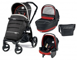 Коляска 3 в 1 Peg-Perego Book Plus Set Modular Pop-Up (шасси Black) Synergy XL