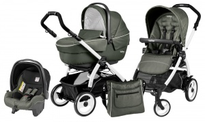 Коляска 3 в 1 Peg-Perego Book Plus 51 Set Modular Sportivo (шасси White) Timo