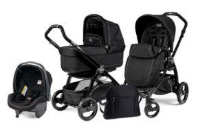 Коляска 3 в 1 Peg-Perego Book Plus Set Modular Pop-Up (шасси Black) Onyx