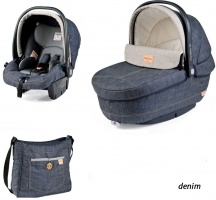 Коляска 3 в 1 Peg-Perego Set Modular Denim