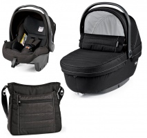Коляска 3 в 1 Peg-Perego Set Modular Mod black