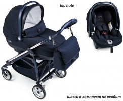Коляска 3 в 1 Peg-Perego Set Modular Martinelli blu note