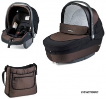 Коляска 3 в 1 Peg-Perego Set Modular Newmoon