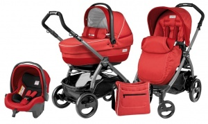 Коляска 3 в 1 Peg-Perego Book Plus 51 Pop Up Set Modular (шасси Jet) Sunset