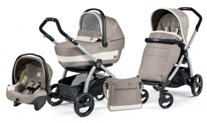 Коляска 3 в 1 Peg-Perego Book Plus Set Modular Pop-Up (шасси Silver) Versilia
