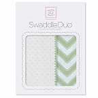 Набор пеленок Swaddle Duo KW Classic Chevron SwaddleDesigns