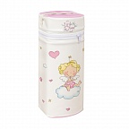 Сумка-термос Ceba Baby Jumbo Little Angel white-pink