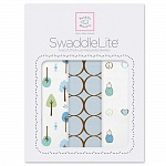 Набор пеленок SwaddleDesigns SwaddleLite Cute & Calm Pastel Blue