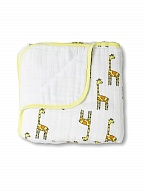 Одеяло Jungle jam - giraffe dream blanket aden+anais