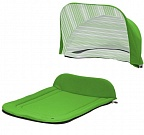 Капор + накидка Seed Papilio Carry Cot Green